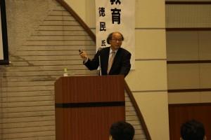 記念講演:陶徳民氏(関西大学教授)